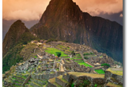 Sunday Surprise: le Machu Picchu � vos pieds !